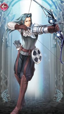 ヴィオール(貴族的な弓使い)の立ち絵
