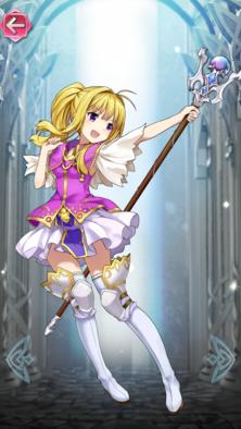 クラリーネ(気ままな姫将軍)の立ち絵