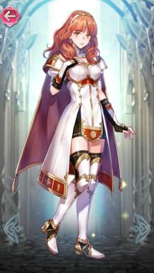 セリカ(慈愛の王女)の立ち絵