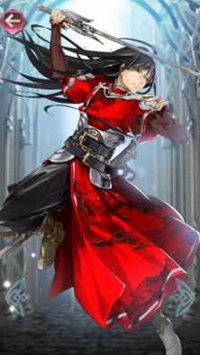 ナバール(紅の剣士)の立ち絵