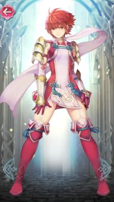 ヒノカ(紅の戦姫)の立ち絵