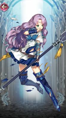 フロリーナ(可憐な天馬騎士)の立ち絵