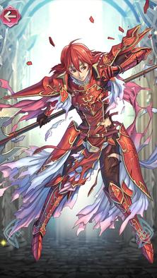 ミネルバ(赤い竜騎士)の立ち絵