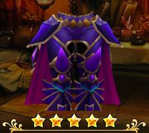 紫虹馬の脛当ての画像