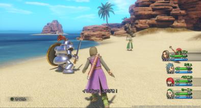 PS4版のフリー移動バトル