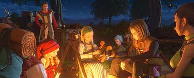 ドラクエ11のキャンプ画像