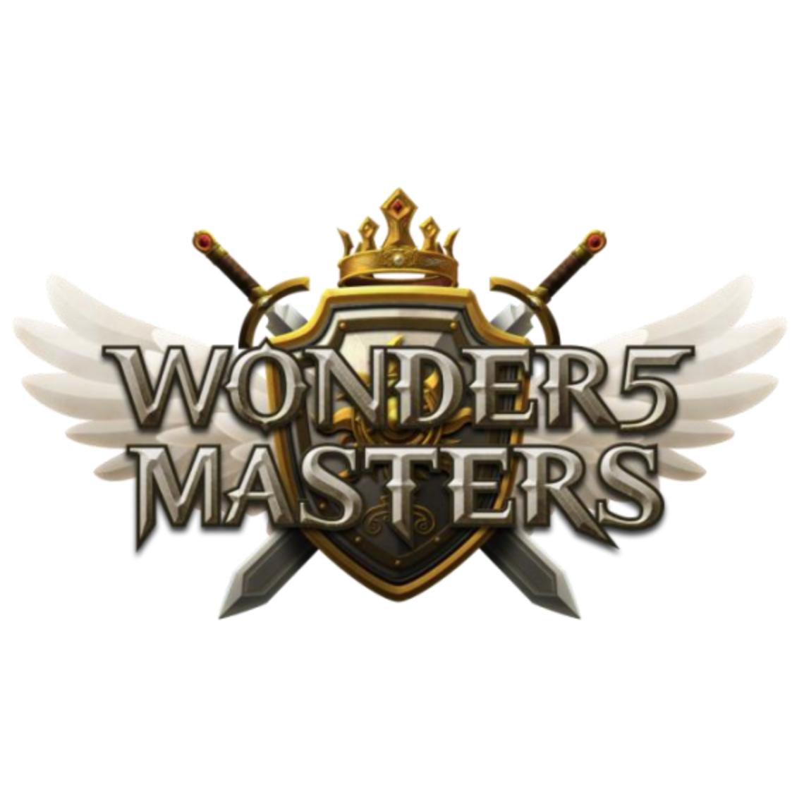 Wonder5 Mastersの画像