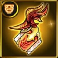 聖騎士の炎飾りのアイコン