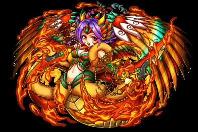 紅灼龍女エキドナの画像