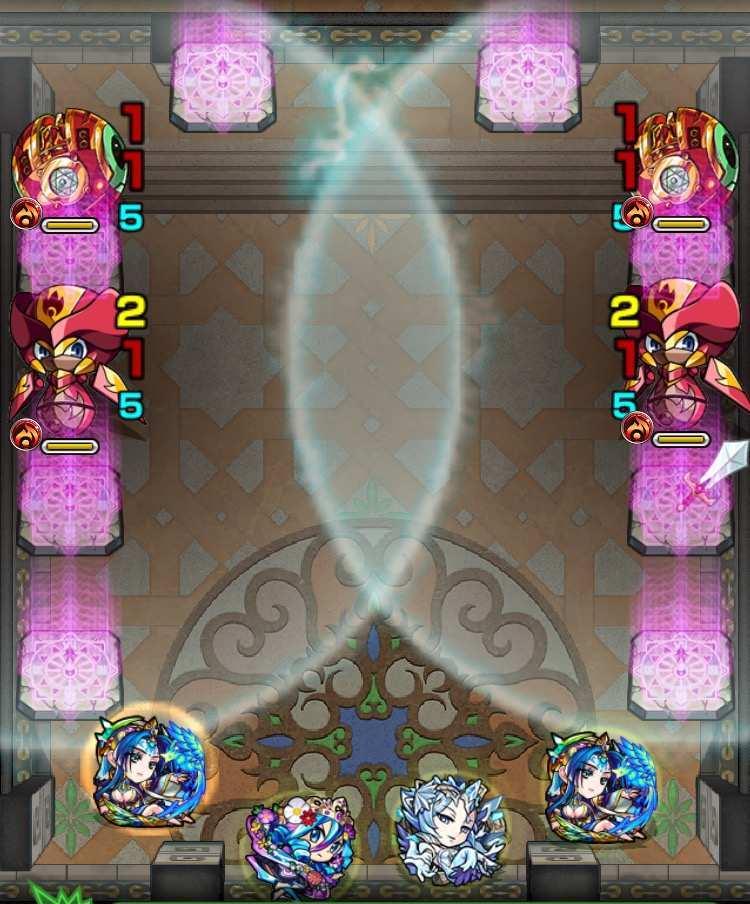 覇者の塔31階ステージ1