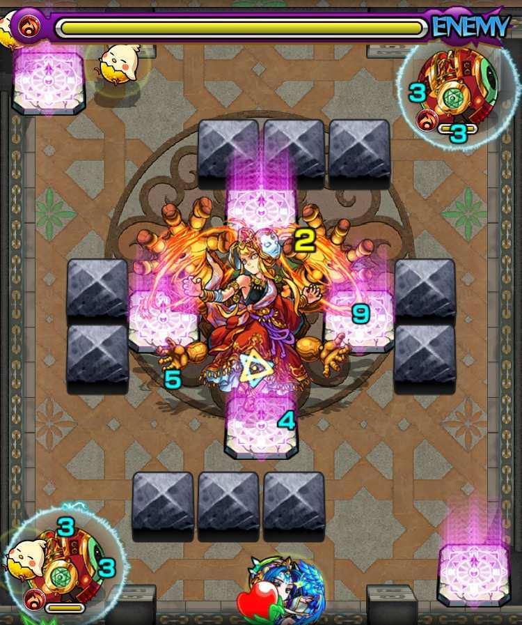 覇者の塔31階ステージ4