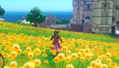 PS4版のフィールドのグラフィック