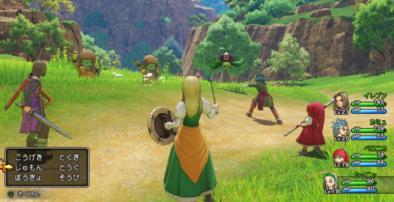 PS4版の戦闘画面のグラフィック1