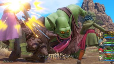 PS4版の戦闘画面のグラフィック2