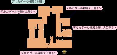 デルカダール神殿(中層)のマップ.png