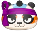 江戸っ子パンダのアイコン
