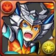 白光炎隼神のアーマーX龍喚士・エースの画像