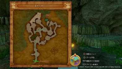 PS4版虹色岩塩の場所の画像