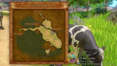 バンデルフォン地方の牛の場所画像2