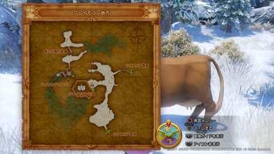 クレイモランの牛の場所画像2