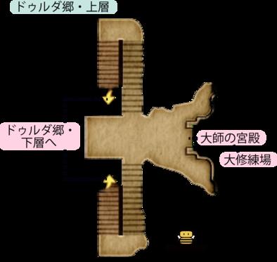 ドゥルダ郷・上層のマップ