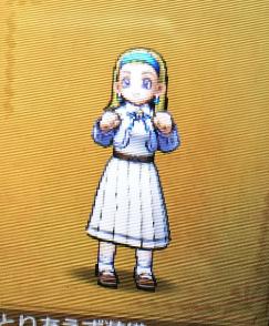伝説のメダ女の制服の画像