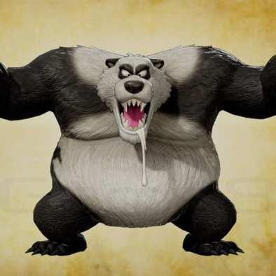 あらくれパンダの画像