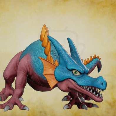 キースドラゴンの画像