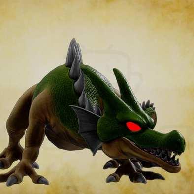 ドラゴン・強の画像