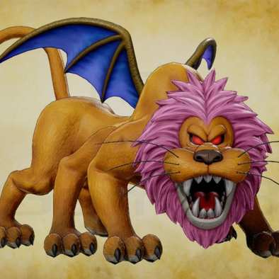 ライオンヘッドの画像