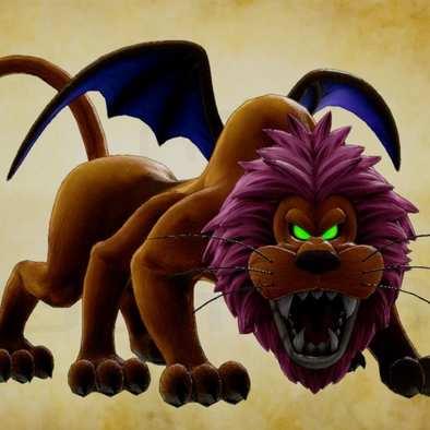 ライオンヘッド・邪の画像