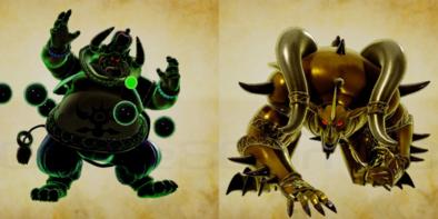 背徳の帝王と戦慄の牙王の画像