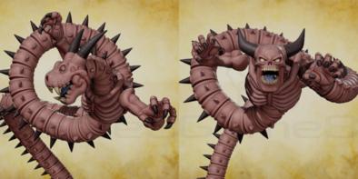 邪竜ウルナーガと魔王ウルノーガの画像