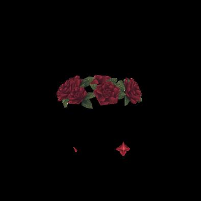 紅蓮のバラ冠の画像