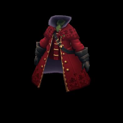 紅蓮のコートのメンズ画像