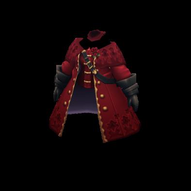 紅蓮のコートの画像