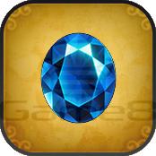 青い宝石の画像