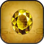 黄色の宝石
