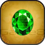 緑の宝石の画像