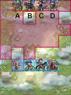 外伝11章-1節傭兵と公女のマップ