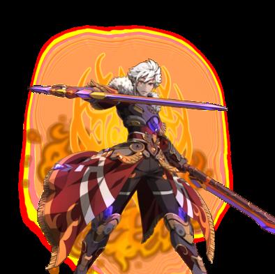 極炎の剣聖ロタニア