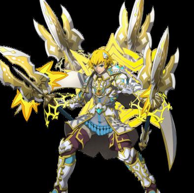 極光の剣聖クヴァシル
