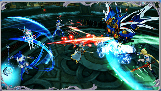 幻想神域 ゲーム画面