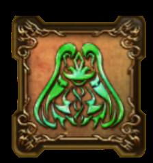 風の精霊の紋章・盾のアイコン
