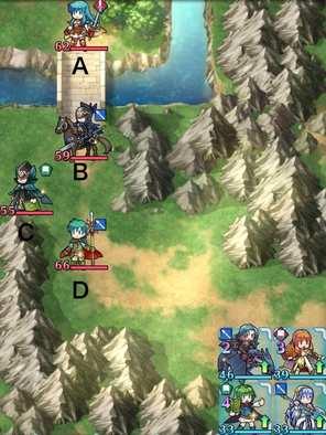 縛鎖第1迷宮:ステージ1のマップ画像