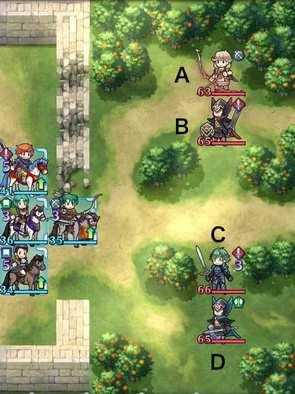 縛鎖第3迷宮:ステージ5のマップ画像