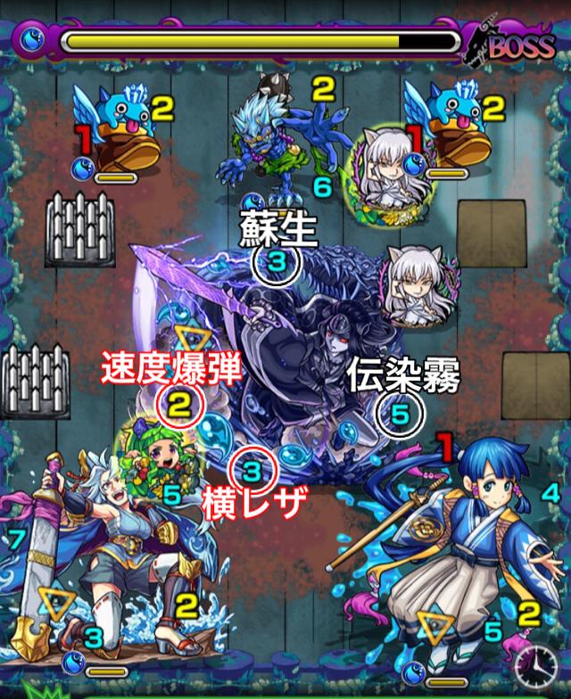 ヤマタケ零のボス3攻略