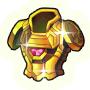 金の鎧の画像