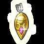 金のピアスの画像