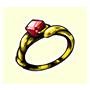 防毒のリングの画像